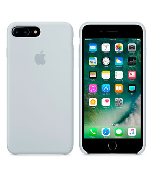 "Чехол ""Apple"" Silicone Case для iPhone 7 Plus/8 Plus Mist Blue (HC)"