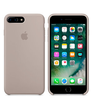 "Чехол ""Apple"" Silicone Case для iPhone 7 Plus/8 Plus Pebble (HC)"