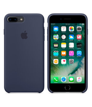 "Чехол ""Apple"" Silicone Case для iPhone 7 Plus/8 Plus Midnight Blue (HC)"