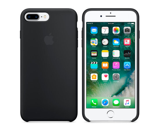 "Чехол ""Apple"" Silicone Case для iPhone 7 Plus/8 Plus Black (HC)"