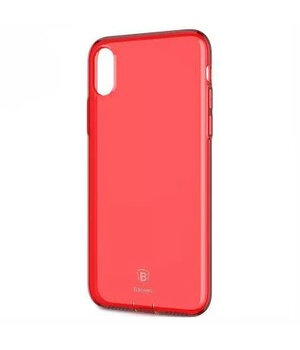 """Чехол """"Baseus"""" силиконовый для iPhone X/XS Simple Ultrathin красный"""