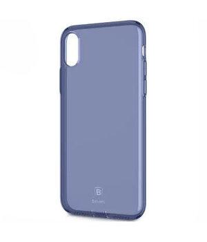 "Чехол ""Baseus"" силиконовый для iPhone X/XS Simple Ultrathin синий"