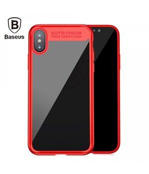 """Защитный чехол """"Baseus"""" Suthin красный для iPhone X/XS"""