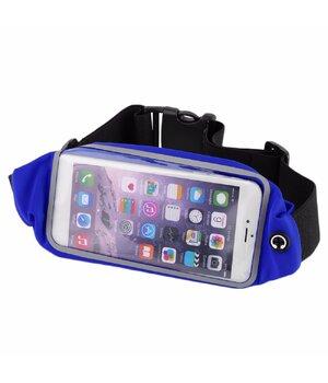 """Спортивный чехол на пояс """"Floveme"""" синий для iPhone"""