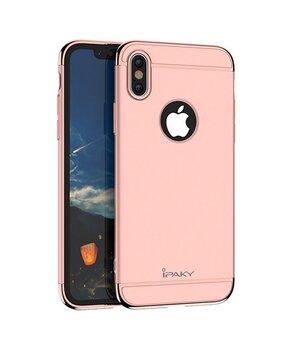 """Пластиковый противоударный чехол """"iPaky"""" Joint Rose Gold для iPhone X/XS"""