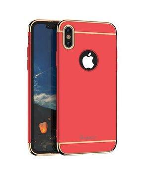 """Пластиковый противоударный чехол """"iPaky"""" Joint красный для iPhone X/XS"""