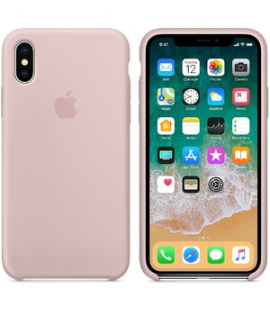 "Чехол ""Apple"" Silicone Case для iPhone XS Max Pink Sand (HC)"