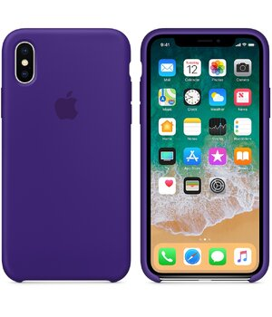 "Чехол ""Apple"" Silicone Case для iPhone XS Max Ultra Violet (HC)"