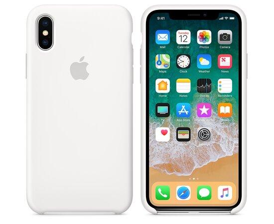 "Чехол ""Apple"" Silicone Case для iPhone XS Max White (HC)"