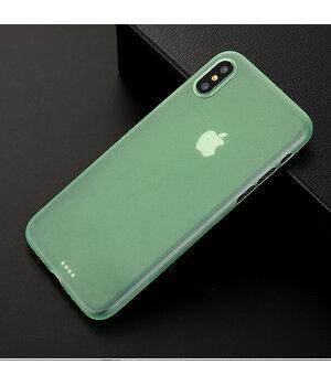 "Ультратонкий чехол ""Ultrathin 0.3mm"" зеленый для iPhone X/XS"