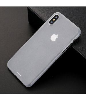 """Ультратонкий чехол """"Ultrathin 0.3mm"""" белый для iPhone X/XS"""