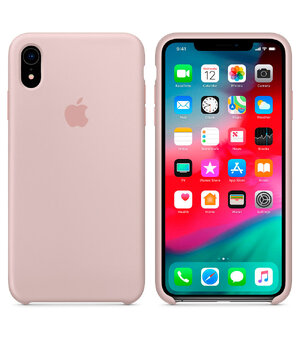 "Чехол ""Apple"" Silicone Case для iPhone XR Pink Sand (HC)"