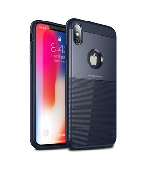 "Противоударный чехол ""iPaky"" Shield синий для iPhone XS Max"