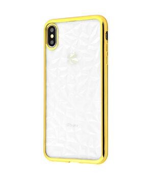 """Силиконовый чехол """"Gelin"""" золотой для iPhone XS Max"""