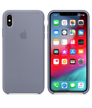 "Чехол ""Apple"" Silicone Case для iPhone XS Max Lavender Gray (HC)"