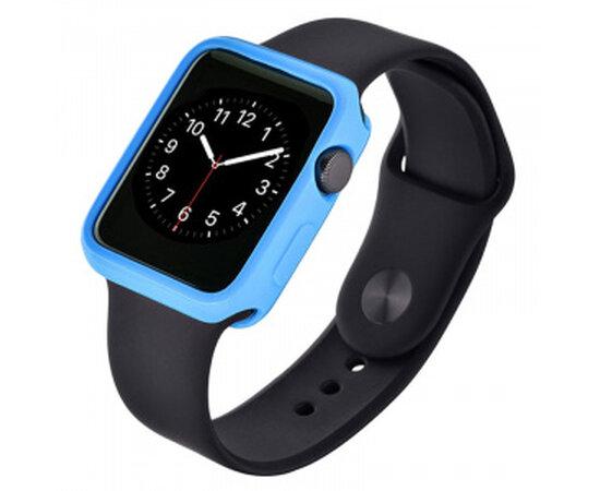 """Чехол """"Devia"""" силиконовый для Apple Watch 42mm синий"""