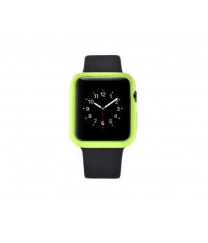 """Чехол """"Devia"""" силиконовый для Apple Watch 42mm зеленый"""