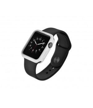 """Чехол """"Devia"""" силиконовый для Apple Watch 42mm белый"""