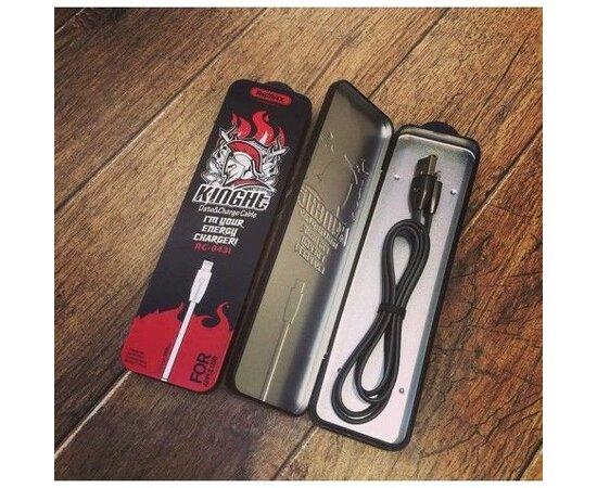 "Lightning USB кабель ""Remax Knight"" 1m Rose Gold для iPhone/iPod/iPad"