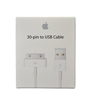 Оригинальный APPLE USB Cable to 30-pin для iPhone 3G/4/4S, iPod touch, iPad