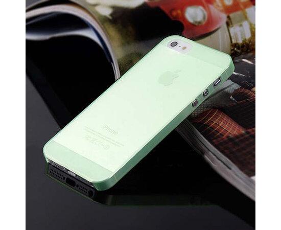 """Ультратонкий чехол """"Ultrathin 0.3mm"""" зеленый для iPhone 5/5S/SE"""