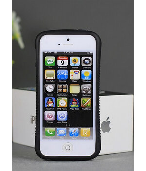 "Антиударный чехол ""iFace"" оранжевый для iPhone 6/6S"