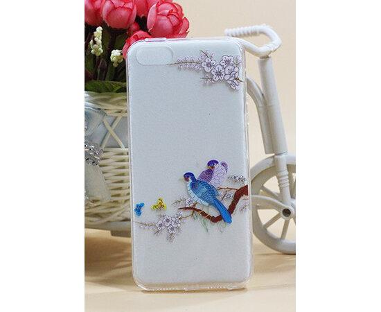 """Чехол """"Birds"""" силиконовый для iPhone 5/5S/SE"""
