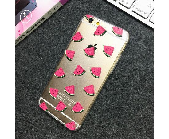 """Чехол """"Дольки арбуза"""" силиконовый для iPhone 5/5S/SE"""