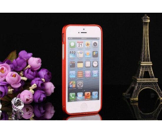 Алюминиевый красный бампер для iPhone 5/5S/SE
