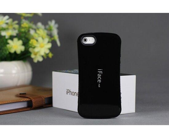 Антиударный чехол iFace черный для iPhone 5/5S/SE