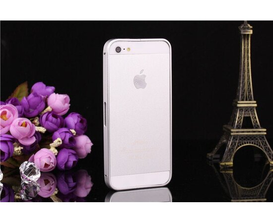 Алюминиевый серебряный бампер для iPhone 5/5S/SE