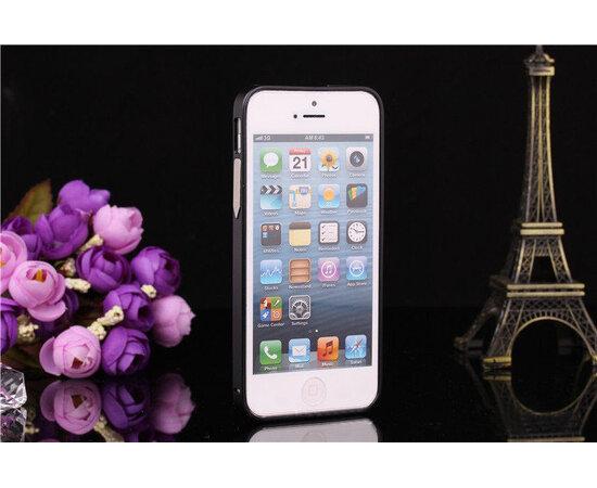 Алюминиевый черный бампер для iPhone 5/5S/SE