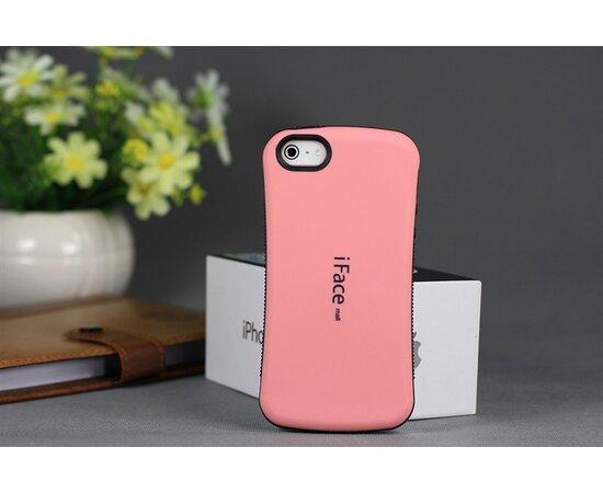 Антиударный чехол iFace розовый для iPhone 5/5S/SE