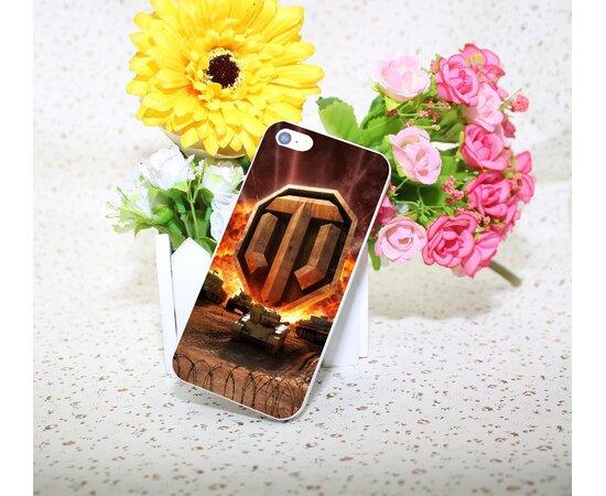 "Чехол ""World of Tanks"" пластиковый для iPhone 5/5S/SE"