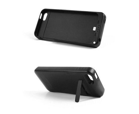"Чехол ""Power case"" черный 2200 mAh для iPhone 5/5S/SE"