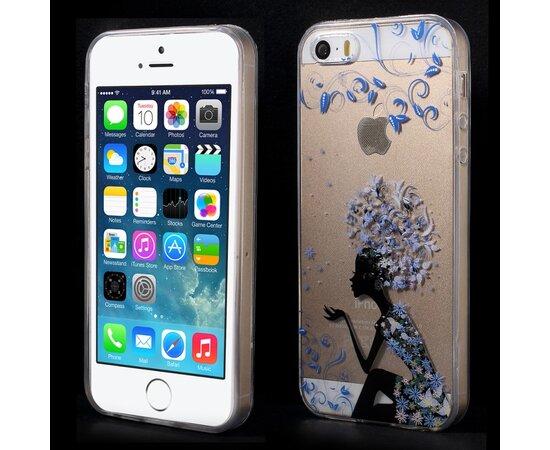 """Чехол """"Мечта"""" силиконовый для iPhone 5/5S/SE"""