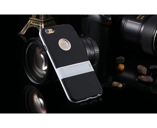 Чехол с подставкой силиконовый для iPhone 5/5S/SE