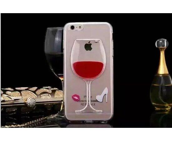 """Чехол """"Бокал"""" силиконовый для iPhone 5/5S/SE"""