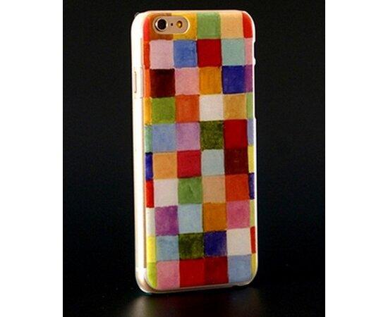 Чехол разноцветный пластиковый для iPhone 4/4S