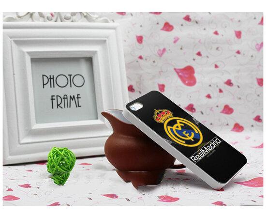 "Чехол ""Real Madrid"" пластиковый для iPhone 5/5S/SE"