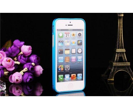 Алюминиевый бирюзовый бампер для iPhone 5/5S/SE