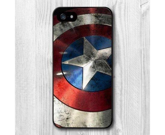 """Чехол """"Капитан Америка"""" пластиковый для iPhone 5/5S/SE"""