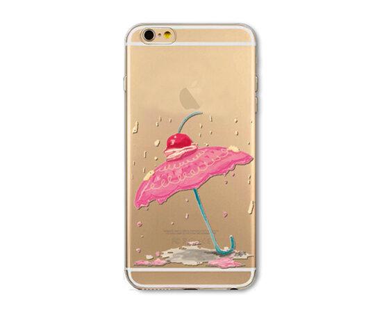 """Чехол """"Десерт"""" силиконовый для iPhone 5/5S/SE"""