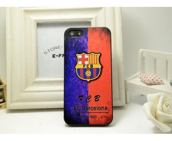 """Чехол """"Barcelona"""" пластиковый для iPhone 5/5S/SE"""