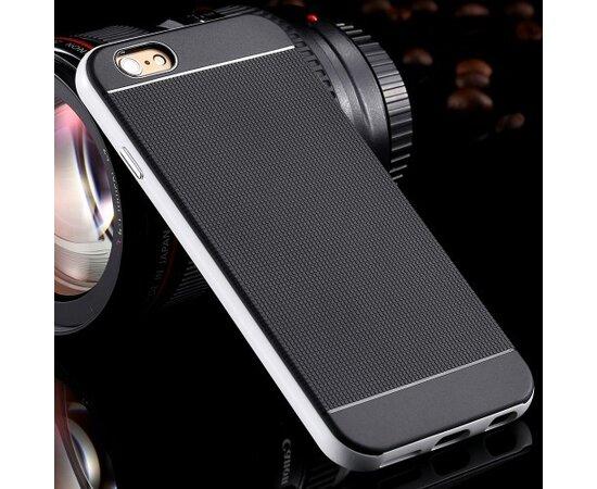 "Антиударный чехол ""Neo Hybrid"" серебряный для iPhone 6/6S"