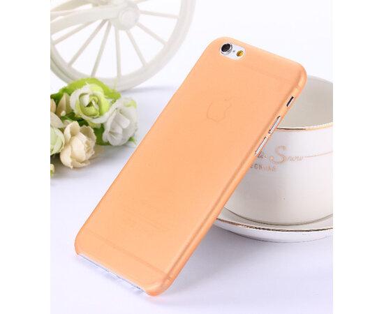 """Ультратонкий чехол """"Ultrathin 0.3mm"""" оранжевый для iPhone 6/6S"""
