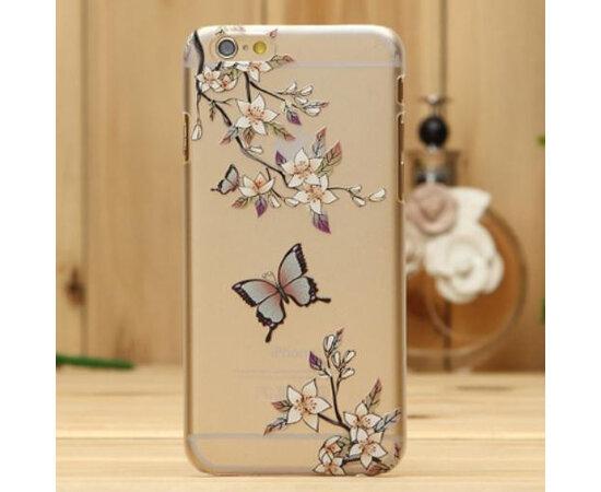 """Чехол """"Бабочка"""" пластиковый для iPhone 6/6S"""