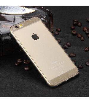 Чехол с блестками серый силиконовый для iPhone 6 Plus/6S Plus