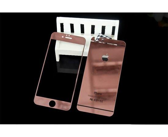 Переднее+заднее Rose Gold стекло для iPhone 6 Plus/6S Plus