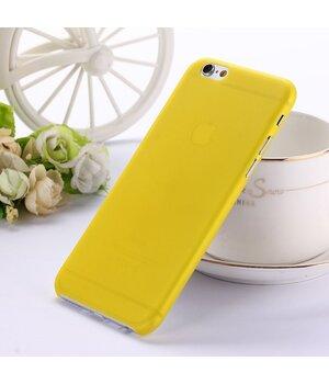 "Ультратонкий чехол ""Ultrathin 0.3mm"" желтый iPhone 6/6S"